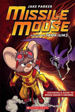 Book jacket for Missile Mouse Rescue on Tankium 3