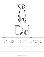 D Is for Dog Tracer