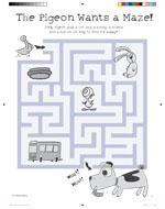 Pigeon Wants a Puppy Maze