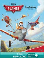 Planes Read Along Storybook