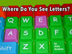 Where Do You See Letters?