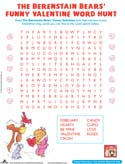 The Berenstain Bears Funny Valentine Word Hunt