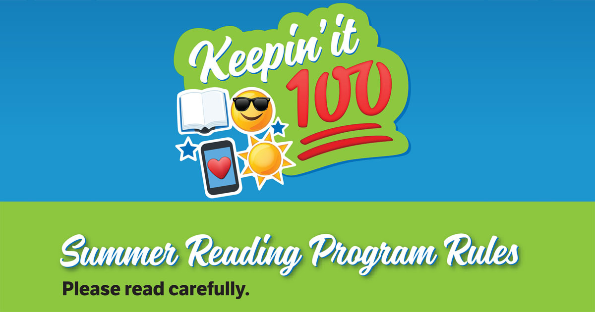 2019 Kids Summer Reading Program Rules   Indianapolis Public