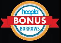 Hoopla Bonus Borrows Logo