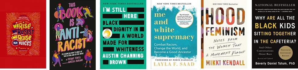 Racial Equity Book Covers