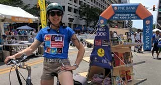 IndyPL Book Bike - It Goes Where the People Are!