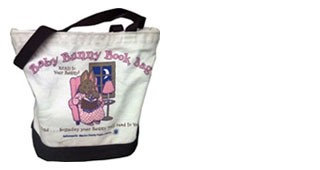 Bunny Book Bags: No Fines! Grab One And Go!