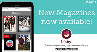 NEW! e-Magazines on OverDrive
