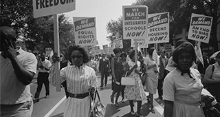 Read Through History for Kids: Racial Justice Timeline 1954-1968