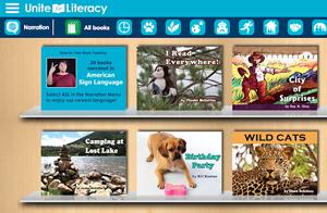 Unite for Literacy Screenshot