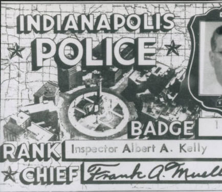 Inspector Identification Card Albert A Kelley 1950S