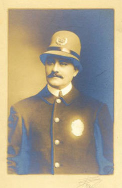 Police Officer Portrait George Bradley 1900S