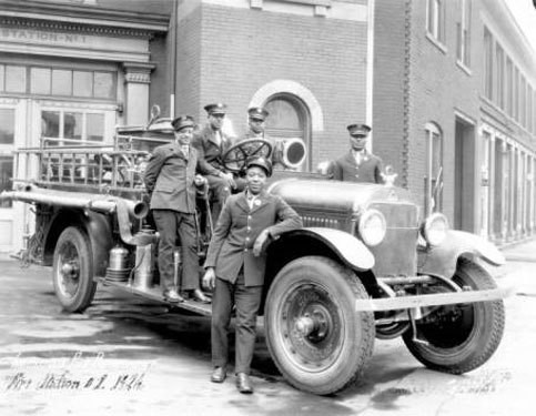Indianapolis Fire Station Number1 1926