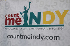 Indy Library Joins Congressman André Carson and Mayor Joe Hogsett to Kick Off 2020 Census Efforts