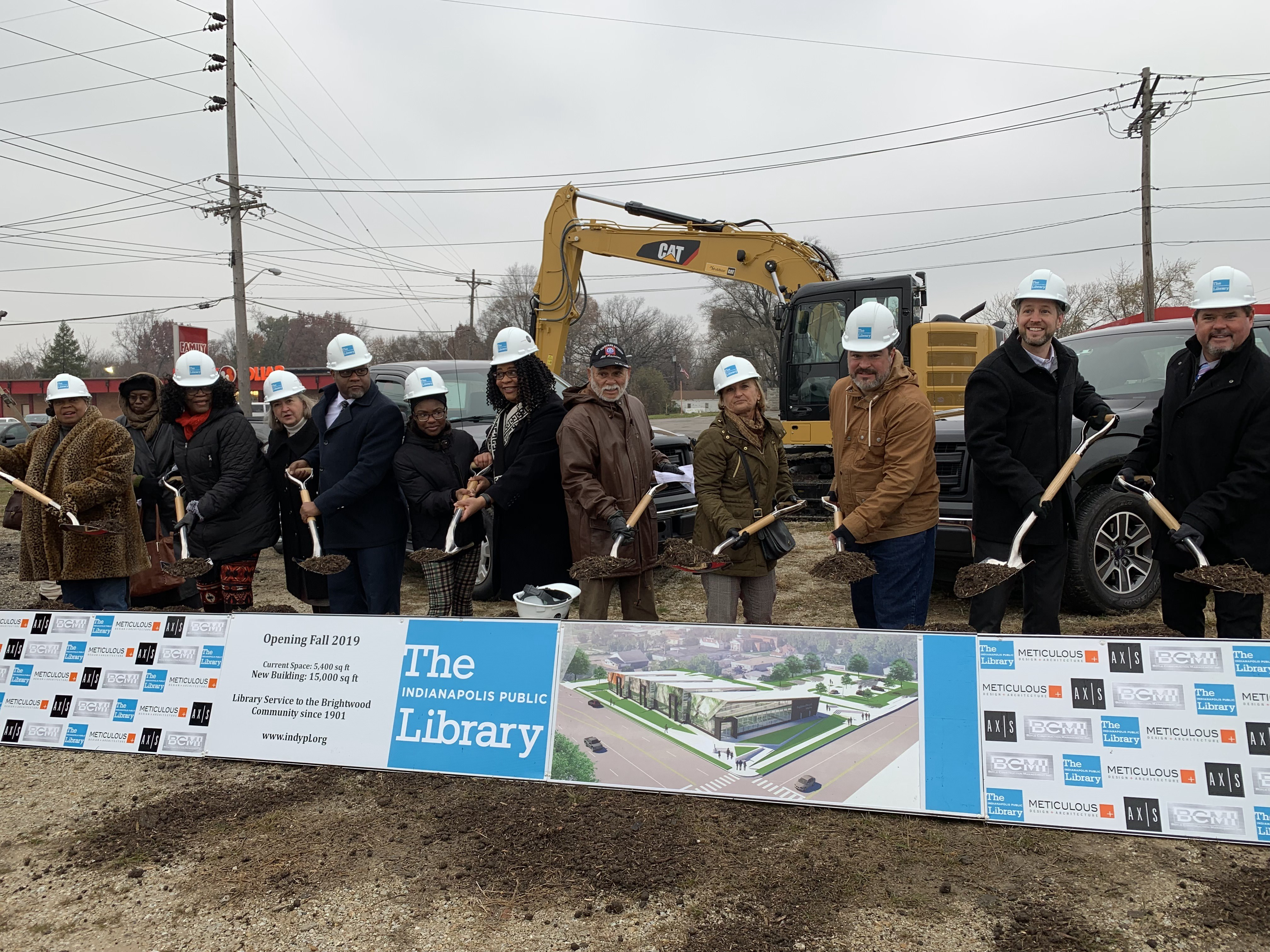 Groundbreaking Occurs for New Branch in Martindale-Brightwood