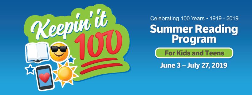IndyPL's 2019 Summer Reading Program: Celebrating 100 Years!