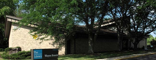 Community Input Meetings Planned for the Wayne Branch Renovation