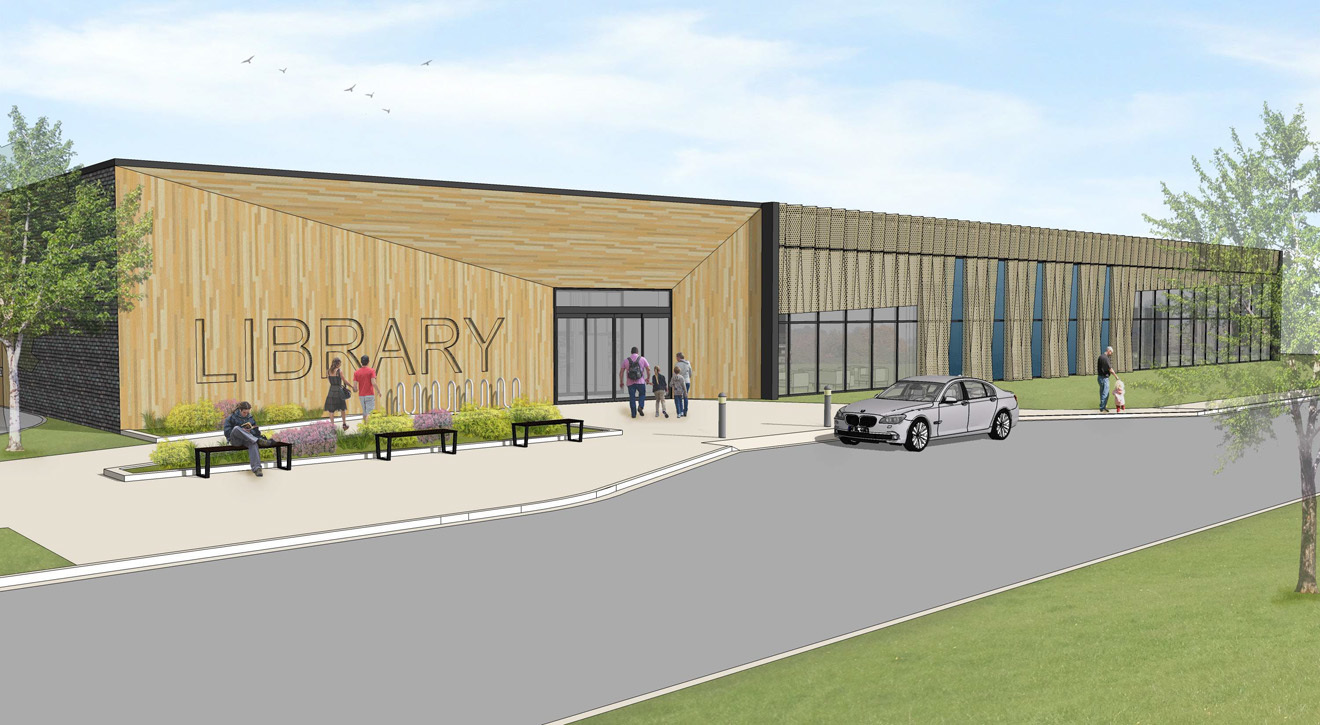 New West Perry Library Design Unveiled on July 18!