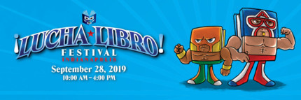 Lucha Libro Festival Comes to Central Library!