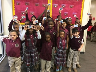 Tindley Charter Schools Receive IndyPL Library Cards!